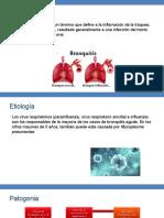 Bronquitis y Bronquiolitis Final