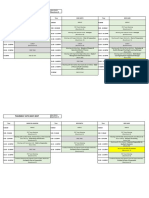 DRAFT FEC Visit Schedule