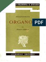 Aristóteles - Organon (Trad. Pinharanda Gomes) - 05