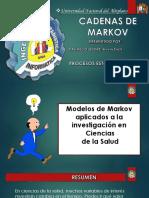 Cadenas de Markov Trabajo