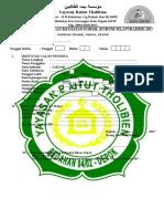 Formulir Pendaftaran Kegiatan