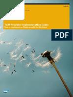TCM Provider Implementation Guide