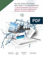 Libro 48. Operación y Mantenimiento de PTARM Lagunas Aireadas