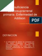 Insuficiencia corticosuprarrenal primaria