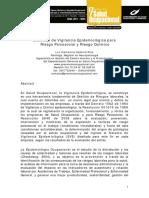 Sistema de Vigilancia Epidemiologica - Luz Clemencia Cadavid