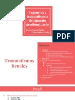 7. Urgencias y Traumatismos Genito-urinario