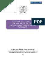 Pedoman Bimtek & Pendampingan k13 Smp Revisi . 18 Maret 2017