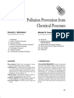 Pollution Prevention From Chemical Processes
