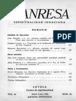 Manresa 1982 4-6 Estudios de Ejercicios.notas y Comentarios.