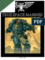 True Space Marines Codex