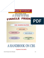 Finacle Friendly a Handbook on Cbs