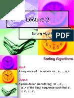 Lecture 2 (Sorting Algorithms - Part 1).ppt