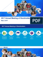 2017 Baxter Annual Stockholder Meeting