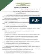 L9784 - Regula o processo administrativo no âmbito da Administração Pública Federal..pdf