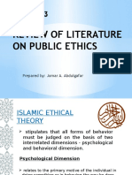 Islamic Ethical Theory