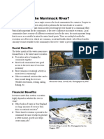handout for clean river project - recreation