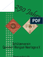 Festschrift 2007 Schützenverein Quendorf-Wengsel-Neerlage e.V.