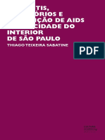 Travestis, Territórios e Prevenção de Aids Numa Cidade Do Interior de São Paulo - Thiago Teixeira Sabatine