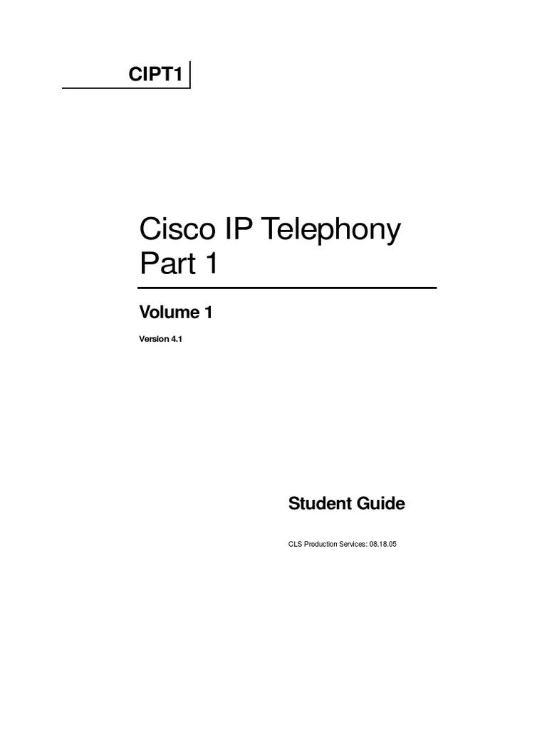 Cisco Cipt Pdf