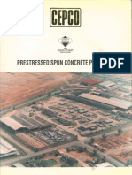 Prestressed Spun Concrete Pruducts