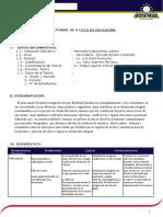 Plan Anual de Tutoría 2015 i Ciclo de Secundaria 3-4- 5 Sec.