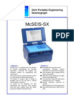 Mcseis Sx24(Xp)24bit E