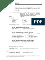 Informe Tecnico Formato 16