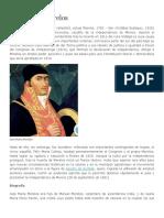 Biografia José María Morelos