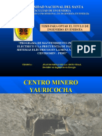 53731089-Mantenimiento-Mina-Yauricocha-Centromin.ppt