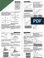 Folleto de  geometria Analitica