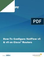 Configure Netflow on Cisco Routers