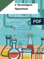 Ingeniería Química Analitica