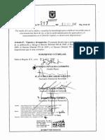 Firman decreto que aumenta en un 10% las tarifas en los parqueaderos de Bogotá