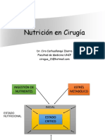 Nutrición en Cirugía