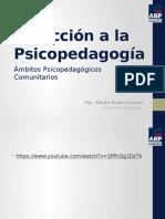 Psicopedagogía comunitaria