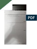 Integrated Mathematics Past Paper 2016