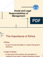 Topic 4-Ethical Social and Legal Responsibilities of Management