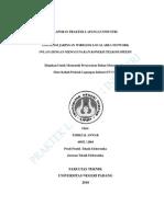 laporan praktek industri