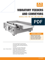 Eirez Vibratory Feeders and Conveyors Brochure