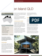 Little Green Island House, Queensland - Rainwater Collection, greywater,passive solar and more