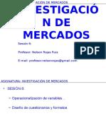 Sesion 06 Investigacion de Mercados 2015-2s