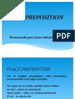Place Preposition
