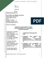 San Bernardino terror attack lawsuit