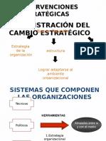 intervenciones estrategicas