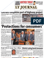 07-22-10 Issue of the Daily Journal