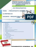 Presupuesto General de La República