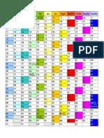 Calendar 2017 Landscape in Colour (1)