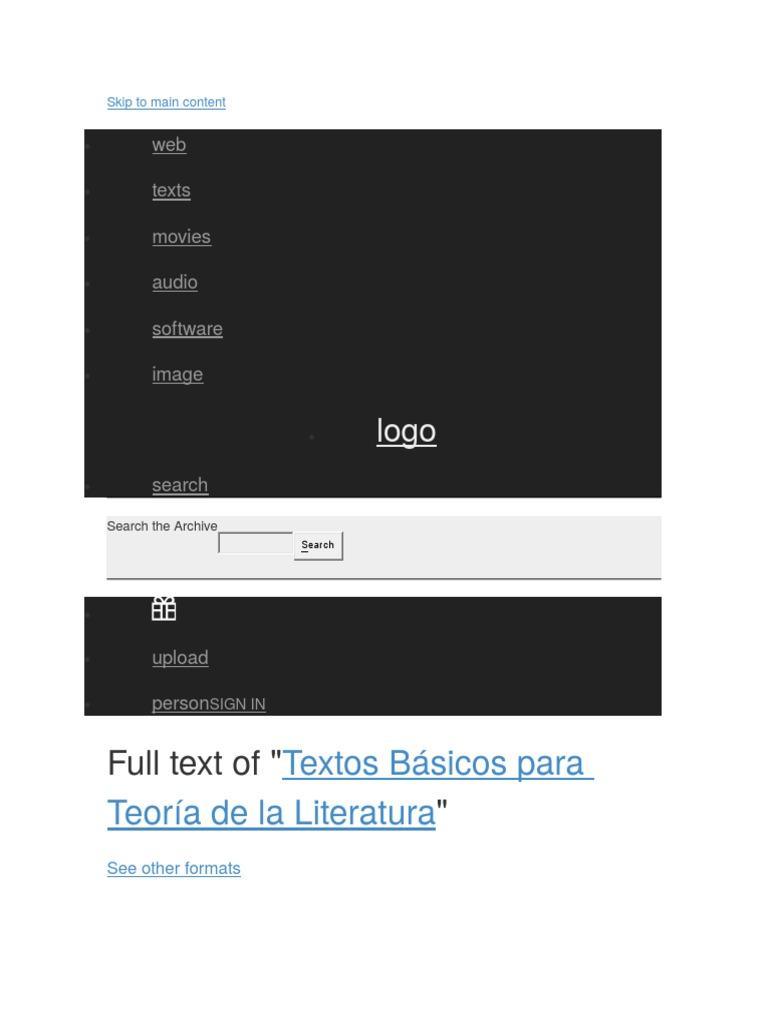 Textos Básicos de la Teoría Literaria.docx
