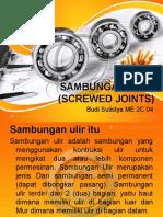 4 Budi Sulistya (Sambungan Ulir).pptx
