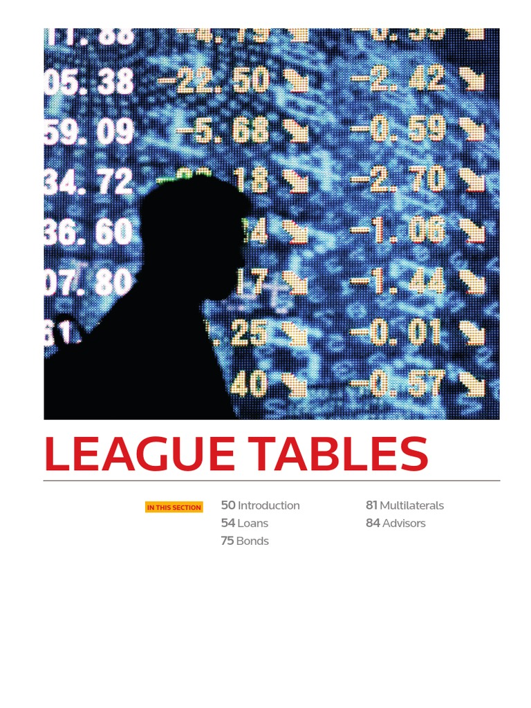 Pf i League Tables 2016   Credit (Finance)   The United States